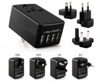 4 USB 萬用充電器 (TO408)