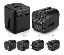 2 USB 萬用充電器 (TO164)